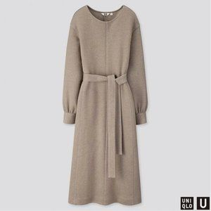 LEMAIRE x UNIQLO U DRESS IN GRAY COLOUR